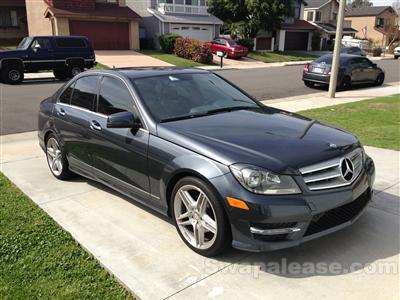 2013 Mercedes-Benz C-Class lease in Huntington Beach,CA - Swapalease.com