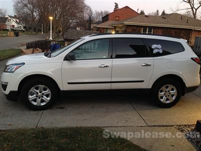 2013 Chevrolet Traverse lease in Bay City,MI - Swapalease.com