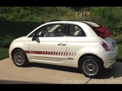 2013 Fiat 500c lease in Jefferson Hills,PA - Swapalease.com