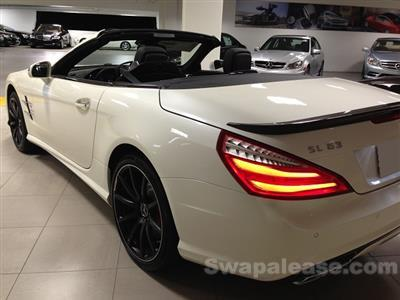 2013 Mercedes-Benz SL63 lease in Los Angeles ,CA - Swapalease.com