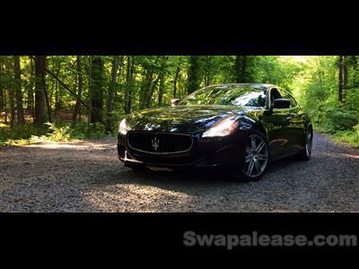 2014 Maserati Quattroporte lease in summit,NJ - Swapalease.com