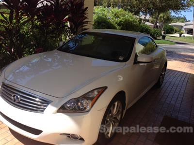 2013 Infiniti G37 Convertible lease in st petersburg,FL - Swapalease.com