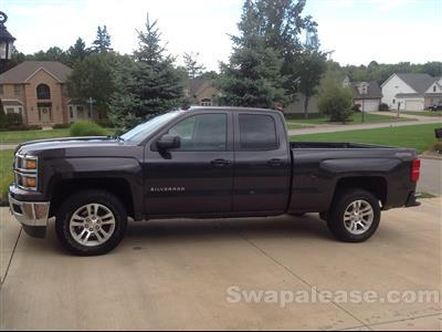 2014 Chevrolet Silverado 1500 lease in Canfield,OH - Swapalease.com
