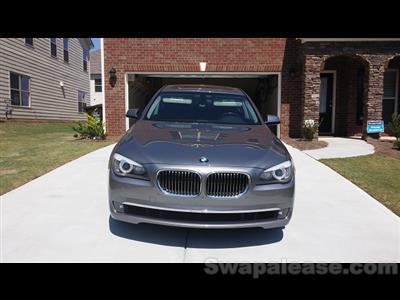 2012 BMW 7 Series lease in Cumming,GA - Swapalease.com