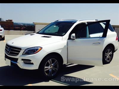 2014 Mercedes-Benz M-Class lease in Middle River,MD - Swapalease.com