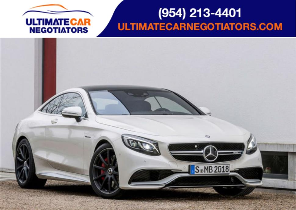 2017 mercedes benz s class coupe lease in ft lauderdale fl for Mercedes benz credit score requirements