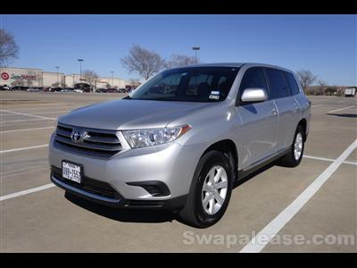 2013 Toyota Highlander lease in The Colony,TX - Swapalease.com