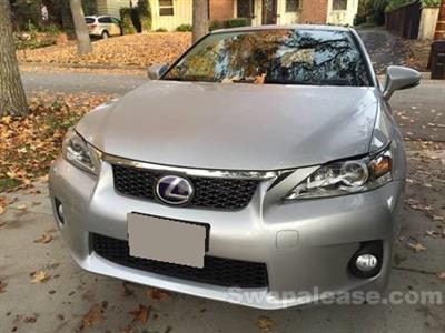 2013 Lexus CT200h Premium lease in La Canada,CA - Swapalease.com