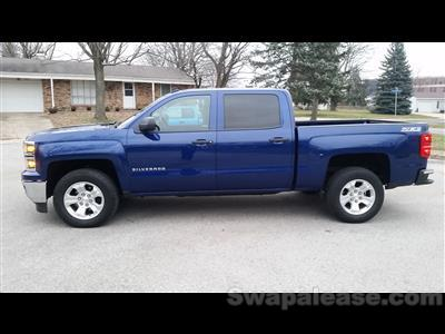 2014 Chevrolet Silverado 1500 lease in Memphis,TN - Swapalease.com