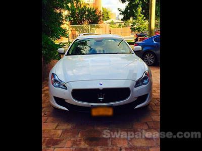 2014 Maserati Quattroporte lease in Queens,NY - Swapalease.com