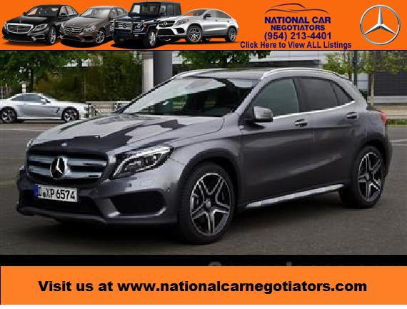 2017 mercedes benz gla suv lease in ft lauderdale fl for Mercedes benz credit score requirements