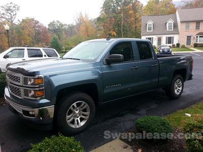 2014 Chevrolet Silverado 1500 lease in Harrisburg,PA - Swapalease.com