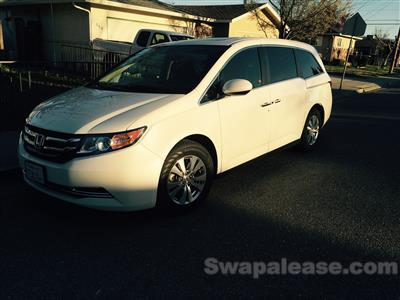 2014 Honda Odyssey lease in Livermore,CA - Swapalease.com