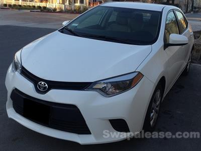 2014 Toyota Corolla lease in Fremont,CA - Swapalease.com