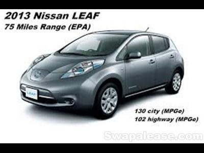 2013 Nissan LEAF lease in Terrace Park,OH - Swapalease.com