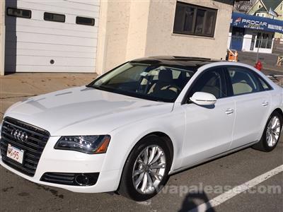 2014 Audi A8 lease in Boston,MA - Swapalease.com