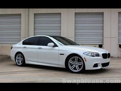 2013 BMW 5 Series lease in Wilmington,MA - Swapalease.com