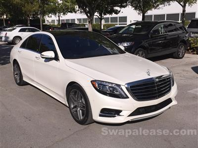 2015 Mercedes-Benz S-Class lease in Sunny Isles,FL - Swapalease.com