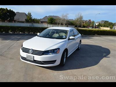 2013 Volkswagen Passat lease in Richmond,TX - Swapalease.com