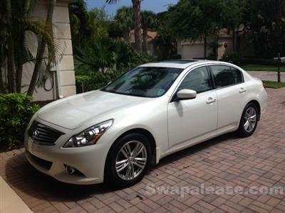 2013 Infiniti G37 Sedan lease in Vero Beach,FL - Swapalease.com