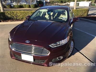 2014 Ford Fusion Energi lease in Dallas,TX - Swapalease.com