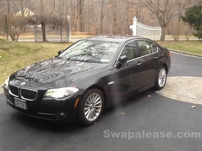 2013 BMW 5 Series lease in Cross River,NY - Swapalease.com