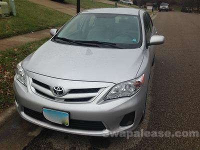 2012 Toyota Corolla lease in fairfield,OH - Swapalease.com