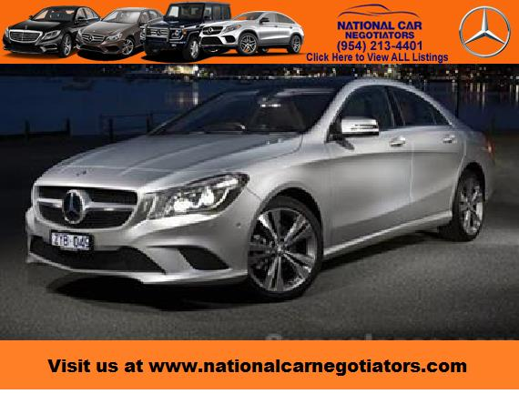 2017 mercedes benz cla coupe lease in ft lauderdale fl for Mercedes benz credit score requirements