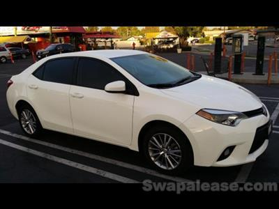 2014 Toyota Corolla lease in Rowland Hights,CA - Swapalease.com