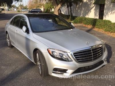 2014 Mercedes-Benz S-Class lease in Clearwater,FL - Swapalease.com