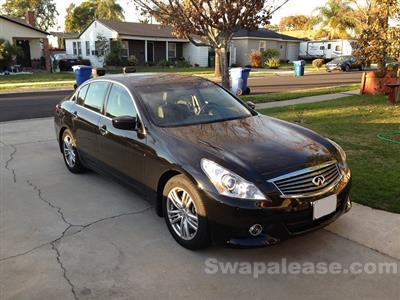 2013 Infiniti G37 Sedan lease in Whittier,CA - Swapalease.com