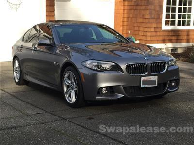2014 BMW 5 Series lease in Bellingham,WA - Swapalease.com