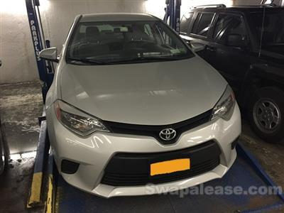 2014 Toyota Corolla lease in New York,NY - Swapalease.com