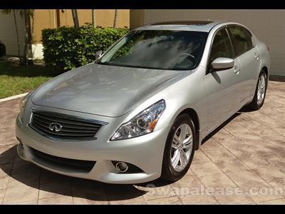 2013 Infiniti G37 Sedan lease in Lake Worth,FL - Swapalease.com