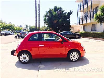 2014 Fiat 500 lease in San Diego,CA - Swapalease.com