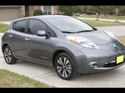2014 Nissan LEAF lease in Kingwood,TX - Swapalease.com