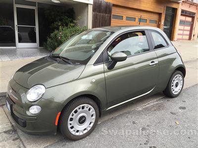 2013 Fiat 500 lease in Oakland,CA - Swapalease.com