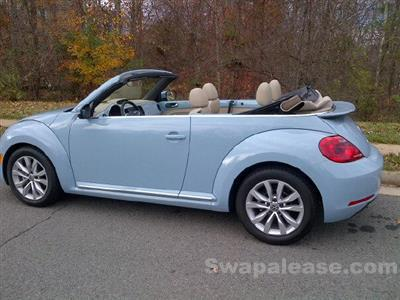 2014 Volkswagen Beetle lease in Clifton,VA - Swapalease.com