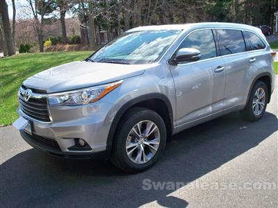 2015 Toyota Highlander lease in Middletown,CT - Swapalease.com
