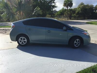 2013 Toyota Prius lease in boca raton,FL - Swapalease.com