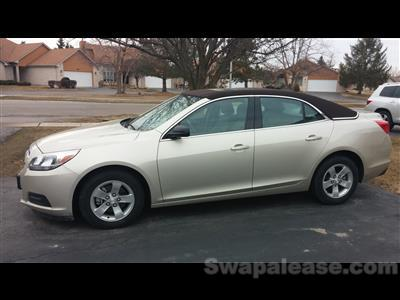 2013 Chevrolet Malibu lease in Tinley Pack,IL - Swapalease.com