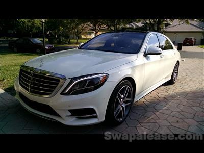 2015 Mercedes-Benz S-Class lease in Parkland,FL - Swapalease.com