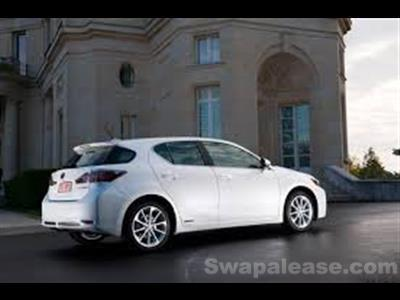 2013 Lexus CT 200h lease in Mclean,VA - Swapalease.com
