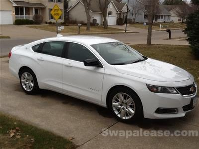 2015 Chevrolet Impala lease in Moline,IL - Swapalease.com