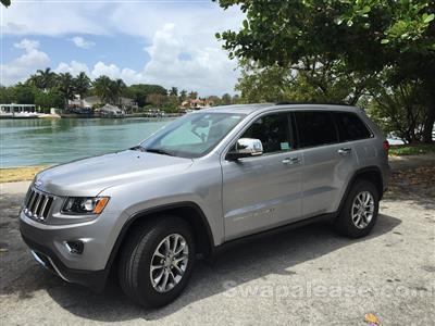 2015 Jeep Grand Cherokee lease in Miami Beach,FL - Swapalease.com