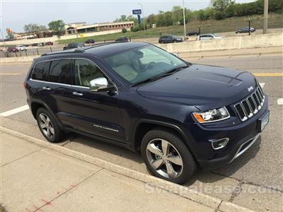 2014 Jeep Grand Cherokee lease in St Louis Park,MN - Swapalease.com
