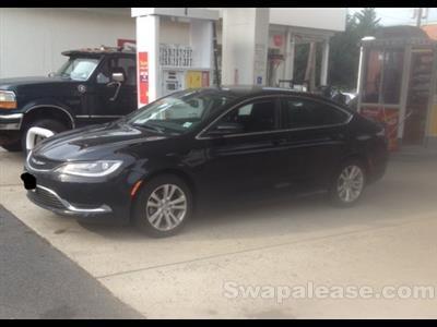 2015 Chrysler 200 lease in Morristown,NJ - Swapalease.com