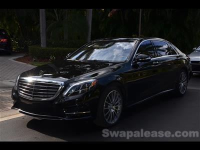 2015 Mercedes-Benz S-Class lease in Delray Beach,FL - Swapalease.com