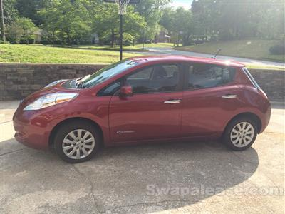 2014 Nissan LEAF lease in Stone Mountain,GA - Swapalease.com
