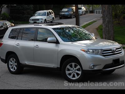 2013 Toyota Highlander lease in Cincinnati,OH - Swapalease.com